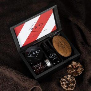 Oak Beard Box gavesett