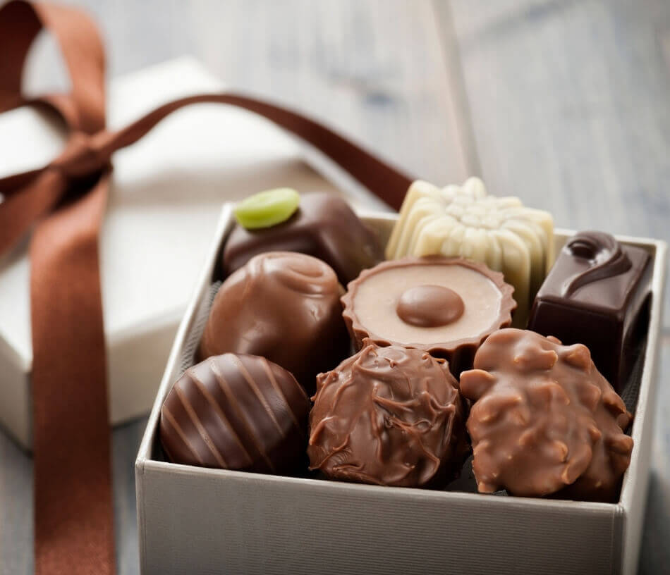 gavekongen sjokolade gave