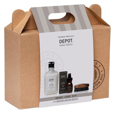 Depot Beard Care Kit skjeggsett