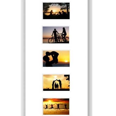 Collage med plass til 7 Bilder
